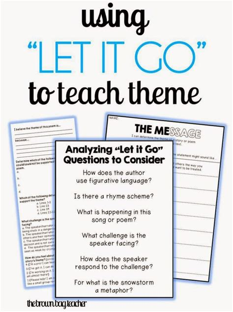 x theme blog read more reviewing theme with frozen s quot let it go quot the brown bag