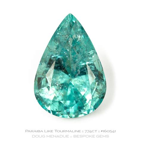 Tourmaline Paraiba mozambique paraiba like tourmaline 7 74ct king gems