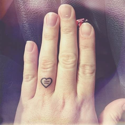 heart tattoo on finger 66 finger tattoos for