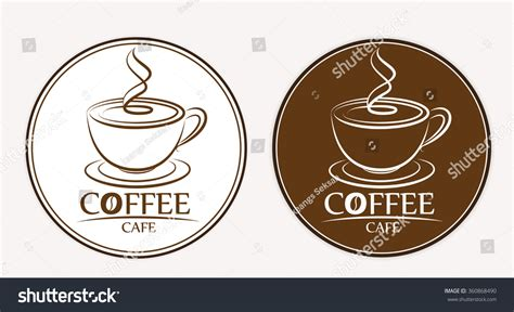 Coffee Label Design Template Coffee Logo Labels Design Templates Stock Vector 360868490 Shutterstock