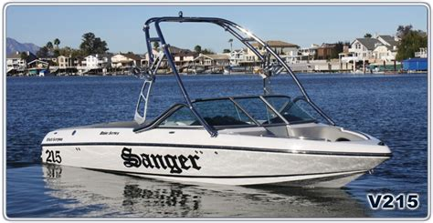 sanger boats gear research 2013 sanger boats v215 on iboats