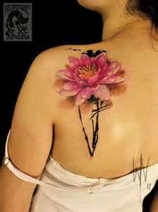 Shoulder Lotus 65 Beautiful Lotus Shoulder Tattoos