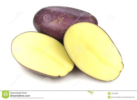 Roasted Root Vegetable - royal blue potatoes royalty free stock photos image 16213988
