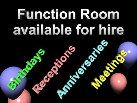 Room Hire by Advertize Your Pub Club Or Venue Templates