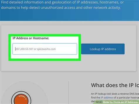 Ip Lookup Website How To Trace An Ip Address 12 Steps With Pictures Wikihow