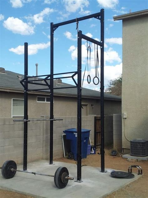 backyard fitness equipment rogue equipped garage gyms photo gallery home garage