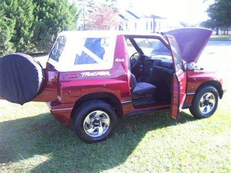 sidekick jeep 93 geo tracker 4x4 convertible sidekick jeep suv towing rare