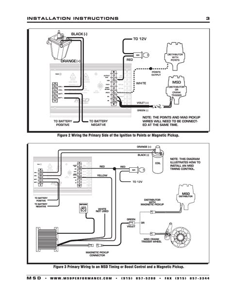 installation instructions     msd  al  ignition control installation user manual