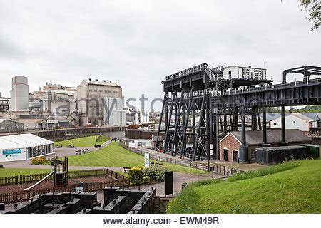 boat lift england anderton boat lift anderton cheshire england stock