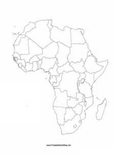 Fill In The Blank Africa Map Quiz by Download Blank Map Of Africa