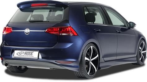 Autoaufkleber Golf 7 by Vw Golf 7 Gets Kit From Rdx Autoevolution