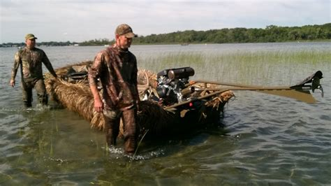 duck hunting in boat blind duck goose hunting boat blind youtube