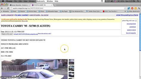 craigslist austin  cars  sale  owner cheap