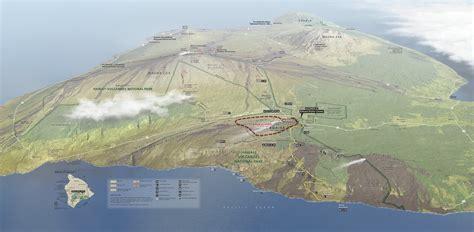 volcanoes in hawaii map file nps hawaii volcanoes map jpg wikimedia commons