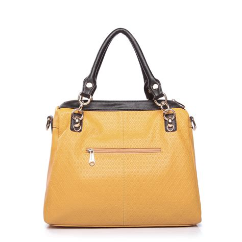 color block handbag color block fashion handbag yellow