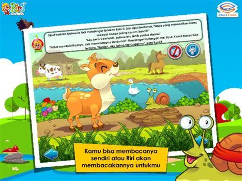 Komik Seri Cheerful Days Yuka Shibano 1 2 Tamat riri kancil dan siput adu pintar educa studio learning apps toys toddler apps