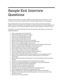 Exit Questionnaire Template by Exit Questionnaire Form 8 Free Documents In