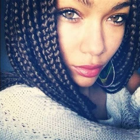 short box braids on pinterest short bob box braids hairstyle pinterest