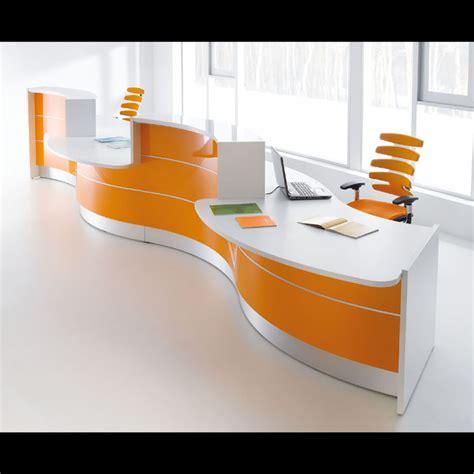 Valde Reception Desk Valde Curved Reception Desk