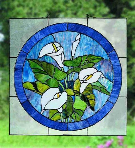 flower pattern glass meyda tiffany 23866 tiffany glass stained glass tiffany