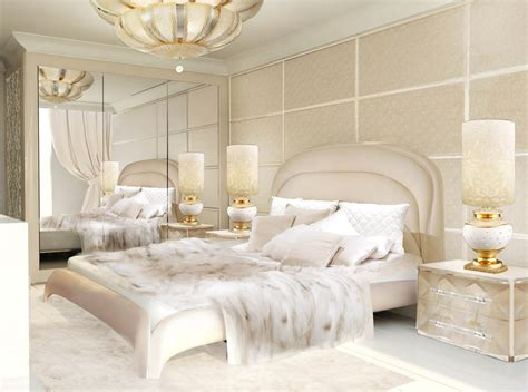 cream and gold bedroom furniture luxury interior design lidia bersani interior