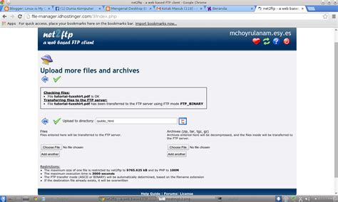 membuat web file sharing membuat server file sharing sendiri w