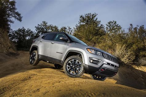 jeep compass 2017 black 2017 jeep compass first look automobile magazine
