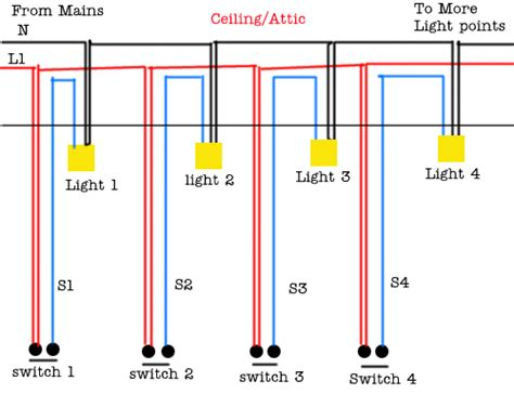 lighting circuit wiring saima soomro lights