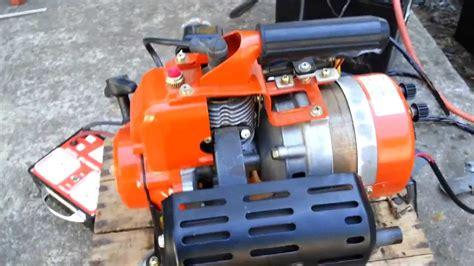 Tas Motor Generator 1984 qeg 300r 2 stroke generator