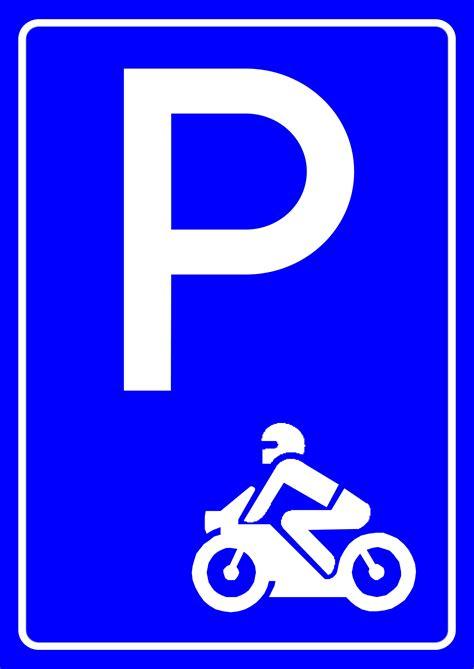 motosiklet park yeri levhasi