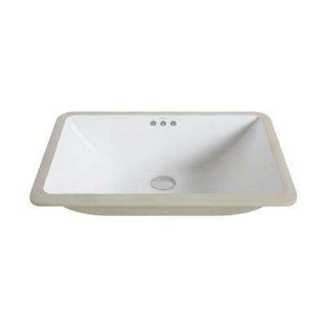 Undermount Bathroom Sink In White Rectangle Undermount Bathroom Sinks Bathroom Sinks