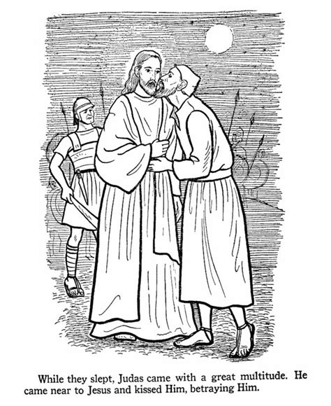 coloring pages of judas betrays jesus 253 best lds children s coloring pages images on pinterest