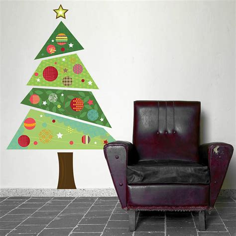 how to make a wall christmas tree the alternative tree