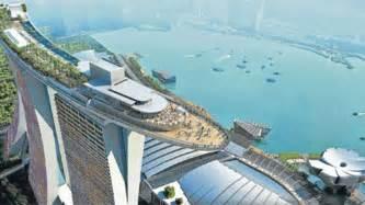 singapur schwimmbad auf dem dach singapur hat jetzt den h 246 chsten hotelpool der welt reise