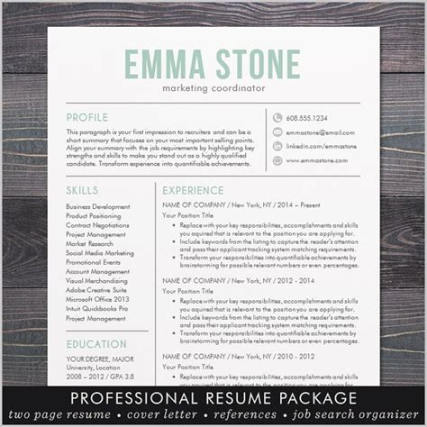 contemporary resume templates for mac free modern resume templates resume resume