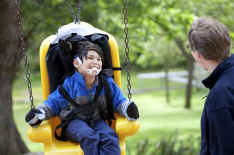 swing for handicapped child key findings lack of disability training in public health
