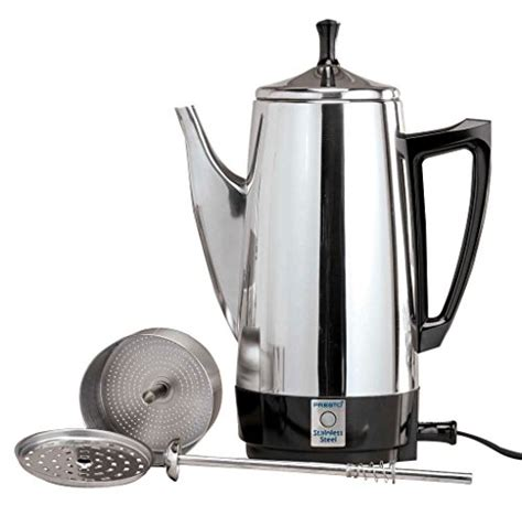presto 174 02811 coffeemaker awardpedia presto 02811 12 cup stainless steel coffee maker