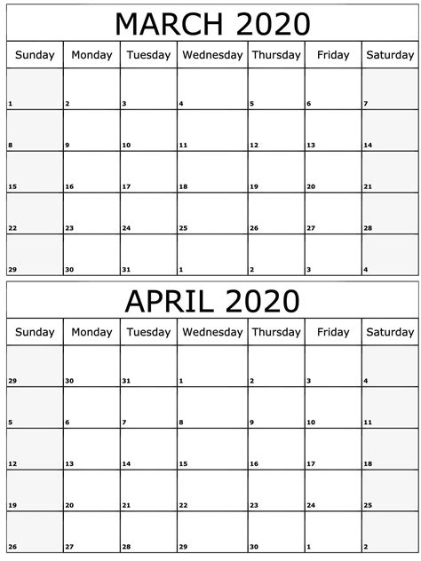 march april calendar   notes  platform  digital solutions  march april