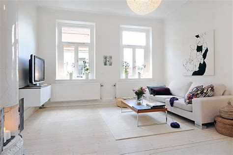 Minimalist Apartment by Flat Renovations Swedish Minimalist Apartment Proves