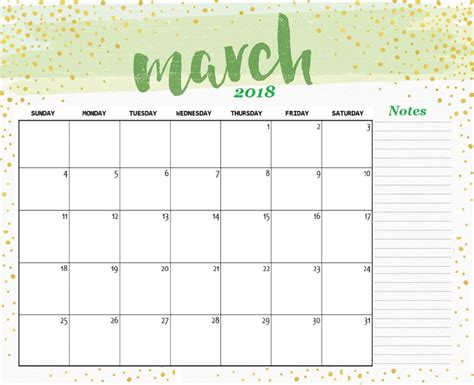 make a 2018 calendar printable march 2018 calendar a4