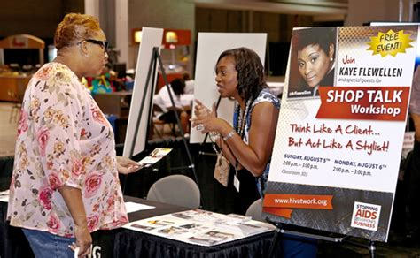 booth at bronner brothers cdc small businesses respond in the workplace other