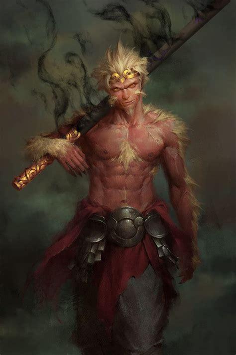 monkey king enforcer 12 on artstation at https www