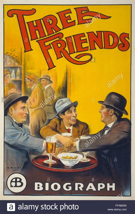 biography film company three friends 1913 biograph company film directed by d w