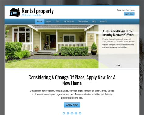 Property Management Wordpress Theme Responsive Wp Theme Property Management Website Templates