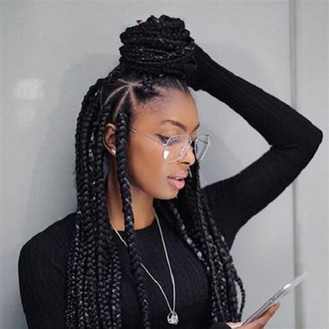 best hair extensions for block braids 50 glamorous ways to rock box braids hair motive hair motive