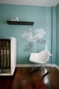 Modern wall paint ideas nice ideas of modern nursery wall decals blue