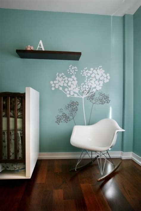 wall paint ideas nice ideas of modern nursery wall decals blue tree modern