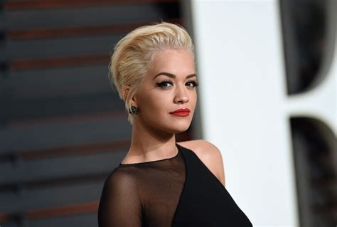 rita oras new short haircut from the 2015 grammy awards lipstick rita ora messy cut short hairstyles lookbook stylebistro