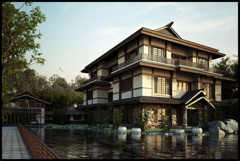 japanese inspired homes japanese house style modern www pixshark com images