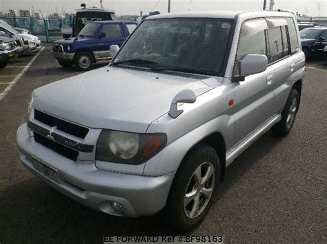 mitsubishi gdi turbo used 2000 mitsubishi pajero io gdi turbo gh h76w for sale